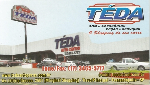Téda Auto Center - Fernandópolis